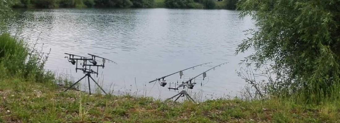 Angeln am Silbersee des Fischereiverein Wittislingen e.V.